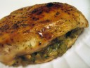 Chicken Stuffed with Pesto and Mushrooms