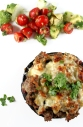 Sausage and Bacon Stuffed Mushrooms