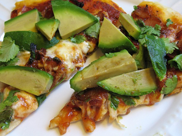 Bacon Avocado Pizza
