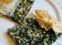 Spinach, Feta, and Pine Nut Tart
