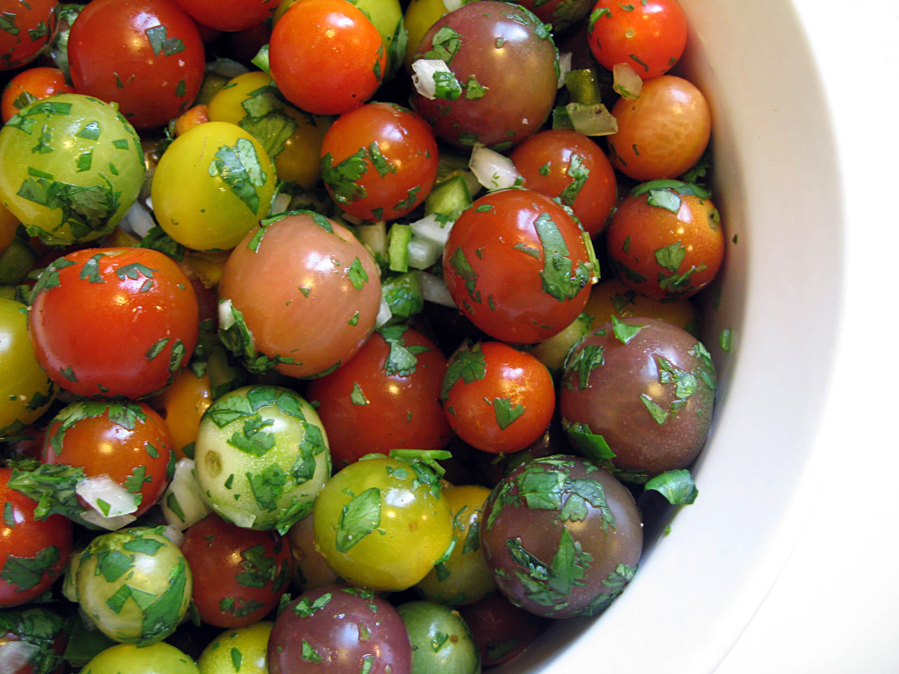 Heirloom Tomato Pico de Gallo Salad | Our Life in Food