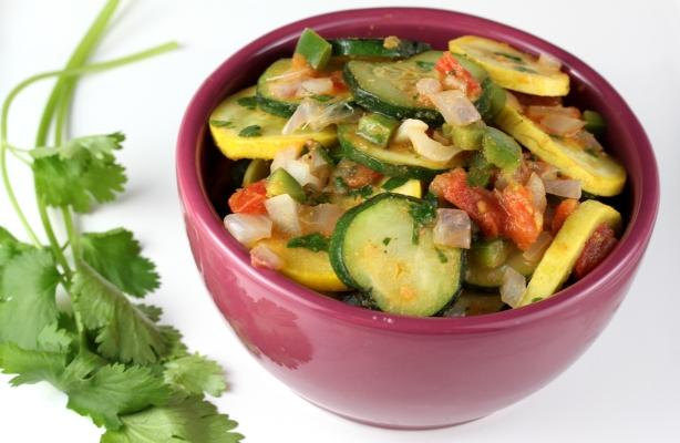 Southwestern Summer Squash Salad |