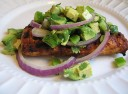 Grilled Mahi-Mahi with Avocado Salsa