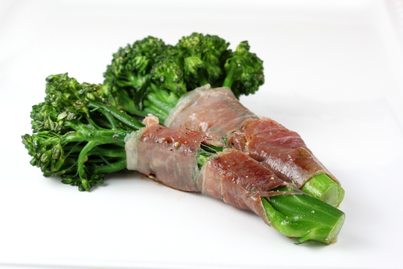 Prosciutto-Wrapped Broccolini
