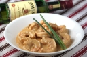 Shrimp in Jameson Cream Sauce