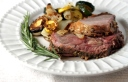 Charcoal-Grilled Leg of Lamb with Rosemary and Garlic