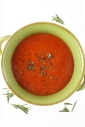 Tomato- Rosemary- and White Bean Soup
