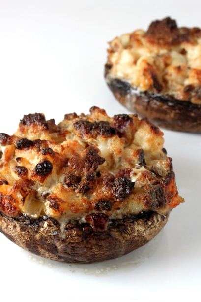 Shrimp and Bacon-Stuffed Mushrooms