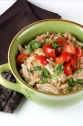 Simple Shredded Chicken and White Beans