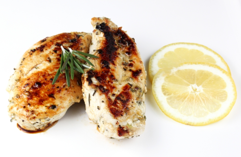 Simple Lemon Rosemary Chicken Breasts