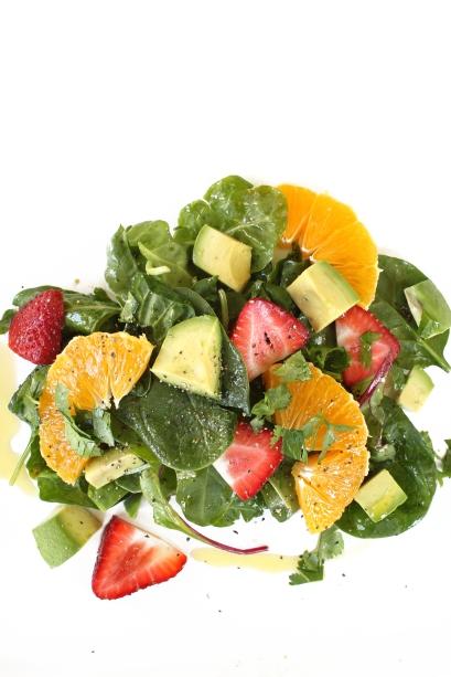 Strawberry Orange Salad